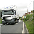 ST3140 : A38 traffic past cottages, Dunball by Robin Stott