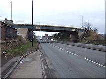 SK4799 : Bridge over Greens Way (A6023) by JThomas