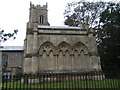 TG2917 : Trafford Mausoleum and the Church of St Mary, Wroxham by Barbara Carr