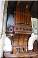 SK7547 : Organ, All Saints' church, Elston by J.Hannan-Briggs