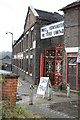 SJ8549 : Price, Kensington - National Teapot Works by Chris Allen