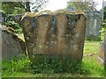 NS3477 : The gravestone of Robert McKinlay by Lairich Rig