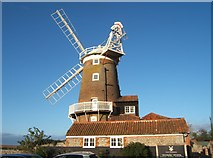 TG0444 : Cley Windmill by Barbara Carr