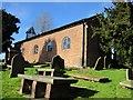 SJ4468 : St John the Baptist's Church, Guilden Sutton by Jeff Buck
