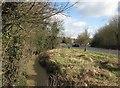 TL4357 : Bin Brook and Barton Road by John Sutton