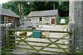 SK1752 : Farmyard at Tissington Hall by Graham Horn