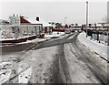 ST3091 : Partly-cleared roadway, Harding Avenue, Malpas, Newport by Jaggery