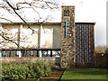 TQ3160 : Belfry of St Barnabas church, Purley by Stephen Craven