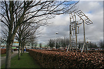 NT1772 : Gyle Centre Mobile Artwork by Anne Burgess