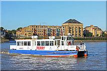 TQ3680 : Hilton Docklands Ferry by Wayland Smith