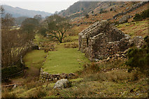 NY1701 : Ruins at Boot, Cumbria by Peter Trimming