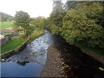 NY9650 : River Derwent downstream from Blanchland by Anthony Foster