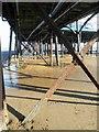 TA3008 : Under Cleethorpes Pier by Steve  Fareham