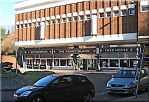 SO8376 : The Penny Black (1), 14-18 Bull Ring, Kidderminster by P L Chadwick