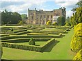 SK4032 : Clipped box at Elvaston Castle by Trevor Rickard
