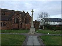 SJ5798 : War Memorial, Ashton-in-Makerfield by JThomas