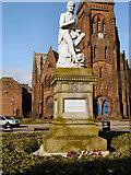 NX9776 : Robert Burns Statue, Dumfries by David Dixon