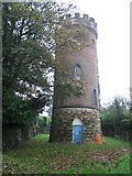 TQ5130 : Beacon Water Tower, Crowborough by Rude Health