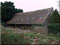 SU1297 : Barn, Marston Meysey by Vieve Forward