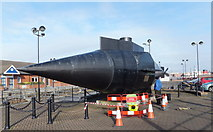 SJ3289 : Resurgam - the submarine by Richard Hoare