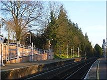 TQ5359 : Otford station by Marathon