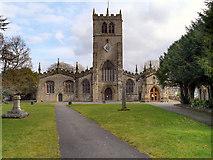 SD5192 : Kendal Parish Church, Holy Trinity by David Dixon