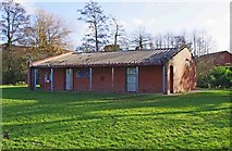 SO8475 : Changing Rooms, Sports Field, Spennells, Kidderminster by P L Chadwick