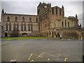 NY9364 : Hexham Abbey by David Dixon