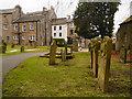 NY7146 : Graveyard, St Augustine's Church by David Dixon