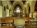 NY7146 : St Augustine's Church (nave) by David Dixon