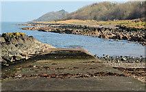 J4482 : Slipway, Helen's Bay by Albert Bridge