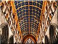 NY3955 : Carlisle Cathedral, Barrel Ceiling by David Dixon