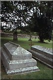 SY7190 : St Michael, Stinsford: grave of Thomas Hardy by Christopher Hilton