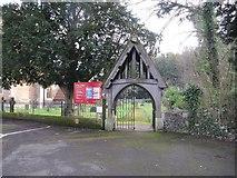 SU6676 : Lych gate to St Mary's by Bill Nicholls