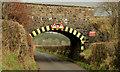 J2485 : Ballymartin railway bridge, Templepatrick (2013-1) by Albert Bridge