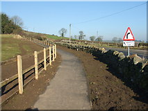 SK3455 : New footpath in Crich by David Beresford