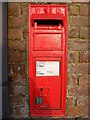 TM4262 : Saxmundham Road Victorian Postbox by Adrian Cable