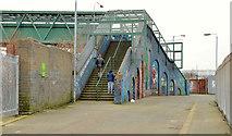 J3272 : Windsor Park footbridge, Belfast (2013) by Albert Bridge