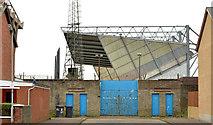 J3272 : The West Stand, Windsor Park, Belfast (2013-2) by Albert Bridge