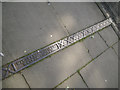 SP2865 : Cast-iron channel cover, Northgate Street, Warwick by Robin Stott