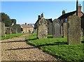 SK8101 : Belton-in-Rutland churchyard by John Sutton
