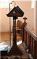 TL9054 : St Peter, Cockfield - Lectern by John Salmon
