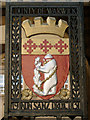 SP2865 : Arms of the County of Warwick 1931 by Robin Stott