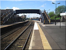 SO9988 : Langley Green railway station by Nigel Thompson