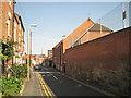 SP2865 : Side of King's High, Chapel Street, Warwick by Robin Stott