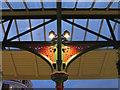 SJ4166 : Cast iron bracket outside Chester station by John S Turner