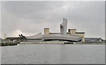SJ8097 : Imperial War Museum North at Manchester by Chris Morgan