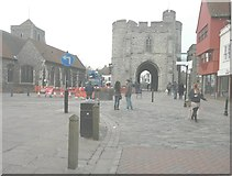 TR1458 : West Gate Towers by John Baker