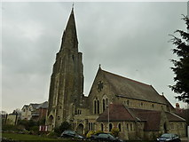 SZ5881 : St Saviour on the Cliff, Shanklin: February 2013 by Basher Eyre