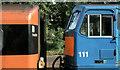 J2664 : NIR locomotive and CIE coach, Lisburn by Albert Bridge